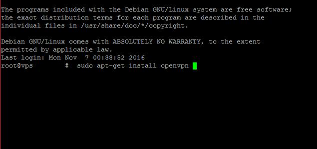 Installing On Linux/Debian (OpenVPN)