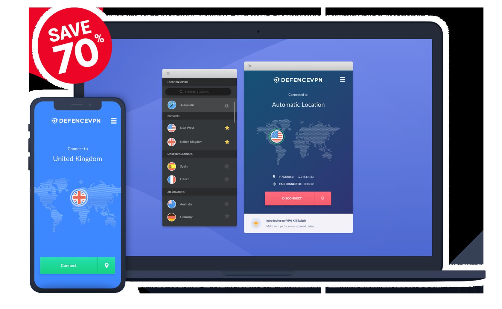 Get Your FREE VPN Trial Now! | DefenceVPN